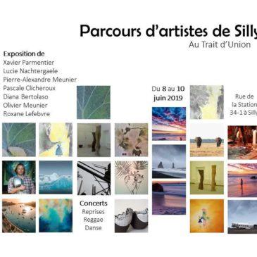 Parcours d'artistes de Silly 8, 9 et 10 juin