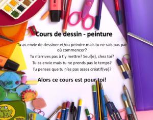 Cours de dessin - Enfants