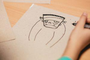"""Atelier créatif 3-6ans: """"Le monstre sous mon lit"""""""
